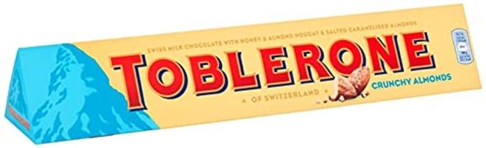 Toblerone Crunchy Almonds Chocolate Bar, 360g