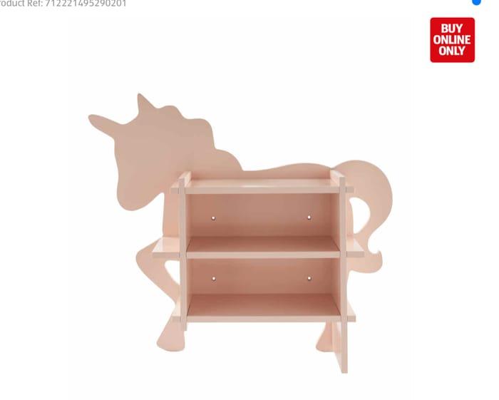 Kirkton House Unicorn Shaped Shelf