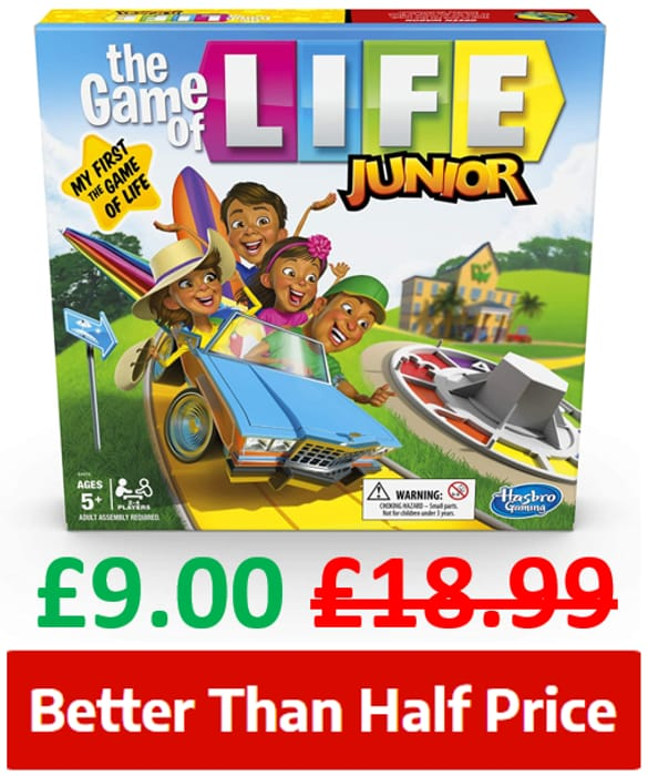 Best Price! Hasbro - THE GAME OF LIFE JUNIOR - Age 5+
