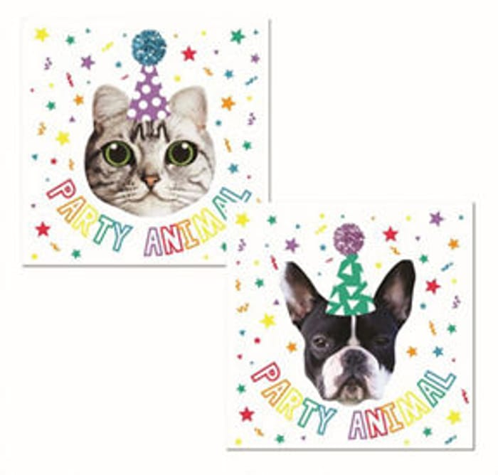 George Home 20 Party Animal Napkins