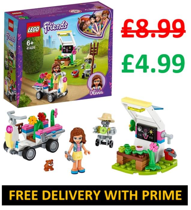 NOT £8.99, ONLY £4.99! LEGO FRIENDS - Olivia's Flower Garden