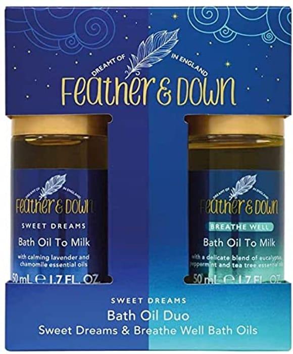 Feather & down Sweet Dreams Bath Oil Duo Gift Set (100ml)