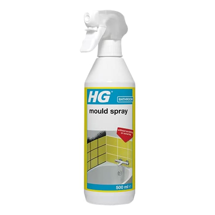 HG Mould Remover Spray, Effective Mould Spray & Mildew Cleaner