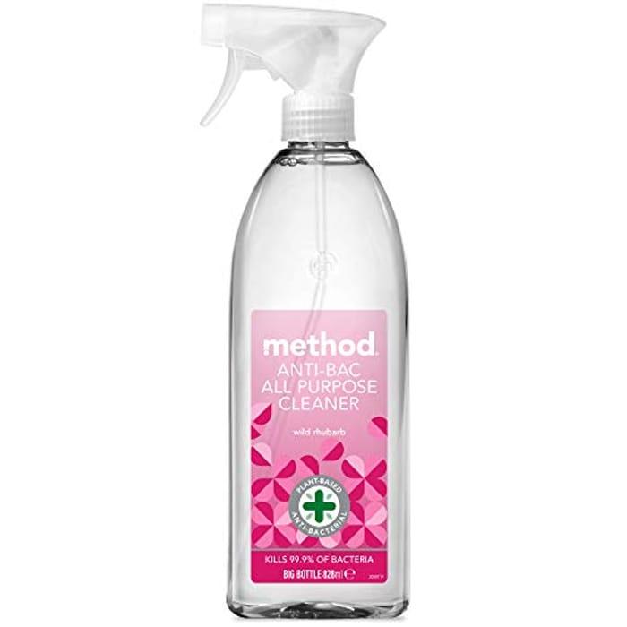 Method Anti-Bac All Purpose Cleaner Wild Rhubarb, 828ml