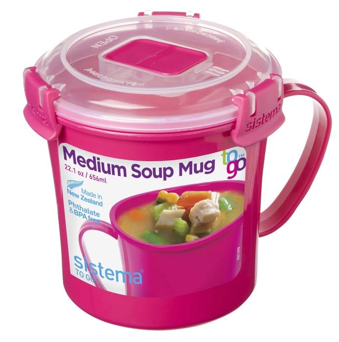 Sistema to Go Microwave Soup Mug - 656 Ml,