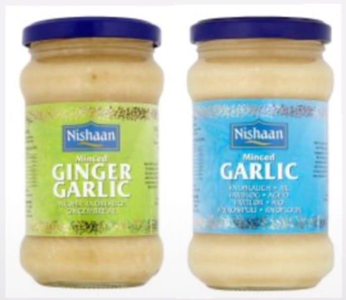Nishaan Garlic Paste 283G / Nishaan Ginger Garlic Paste 283G-90p Clubcard Price