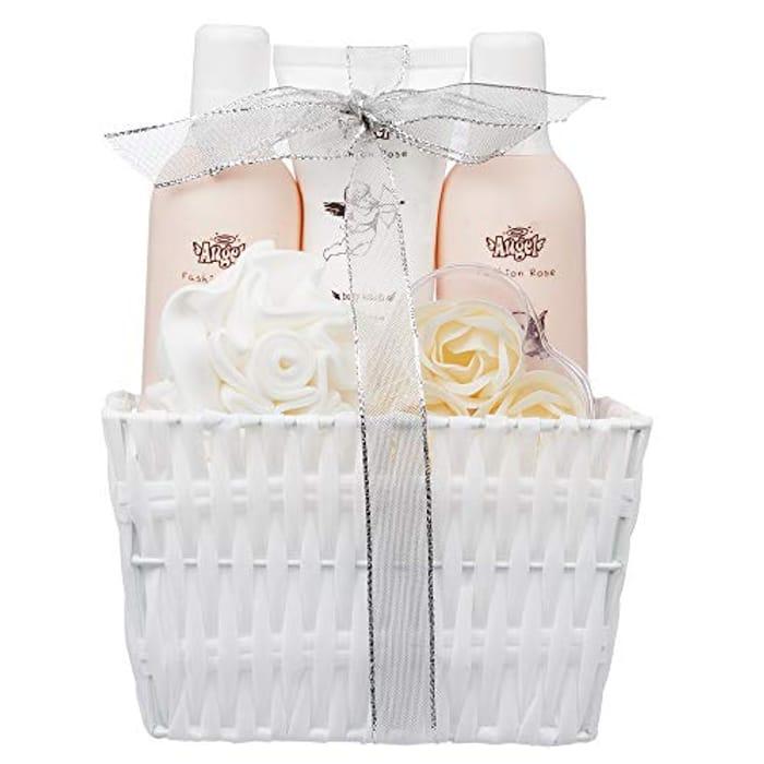 5 Piece Ladies Lovely Fashion Rose Body & Bath Gift Set