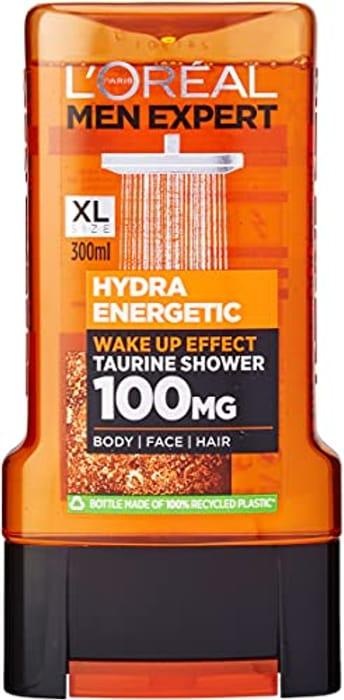 L'Oreal, Men Expert Hydra Energetic Shower Gel 300ml