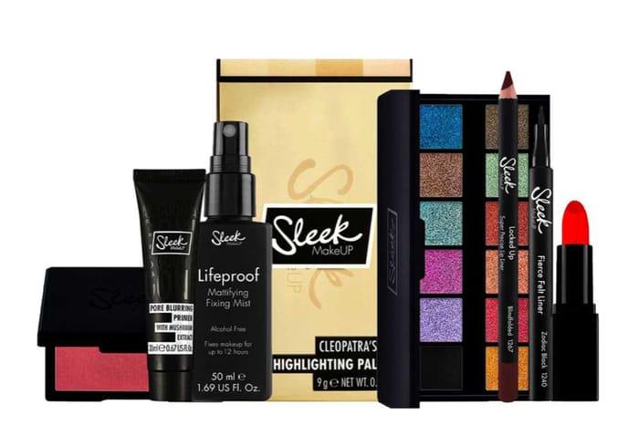 Sleek X Glamour Halloween Bundle £25 worth £58.92 with Code £22.50