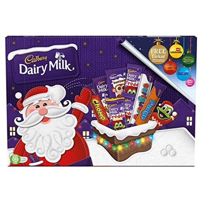 Cadbury Dairy Milk Chocolate Selection Box 135g - £2 Prime / Free C&C