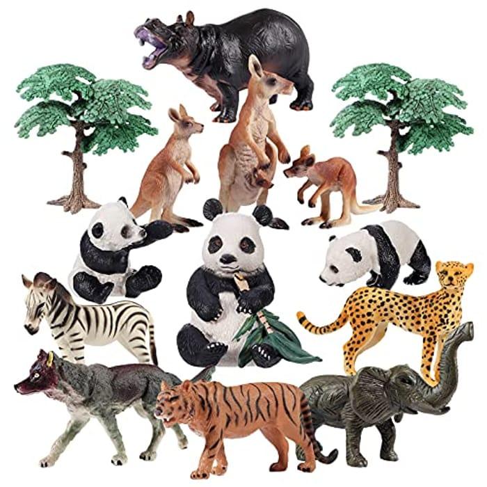 iBaseToy Toy Animals Set