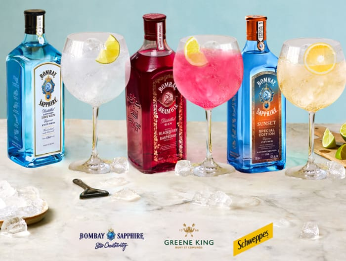 Free Voucher For Bombay Sapphire Gin & Tonic Redeemable At Greene King Pubs