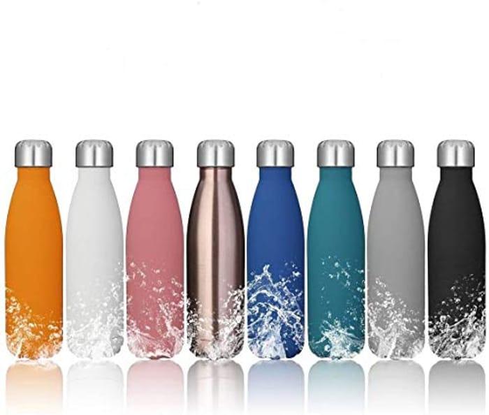 Stainless Steel Vacuum Water Bottle 50% Off!