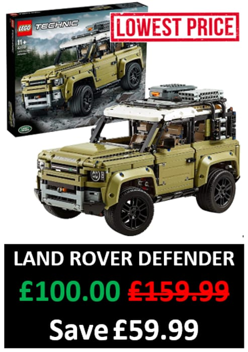 CHEAPEST PRICE EVER! LEGO TECHNIC 42110 Land Rover Defender