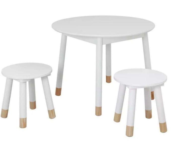 Habitat Scandi Kids Play Table - White