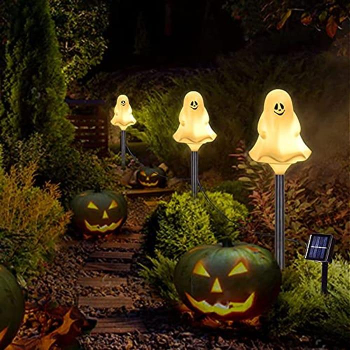 DAYLIGHTIR Halloween Decorative Stake Lights - Only £9.99!