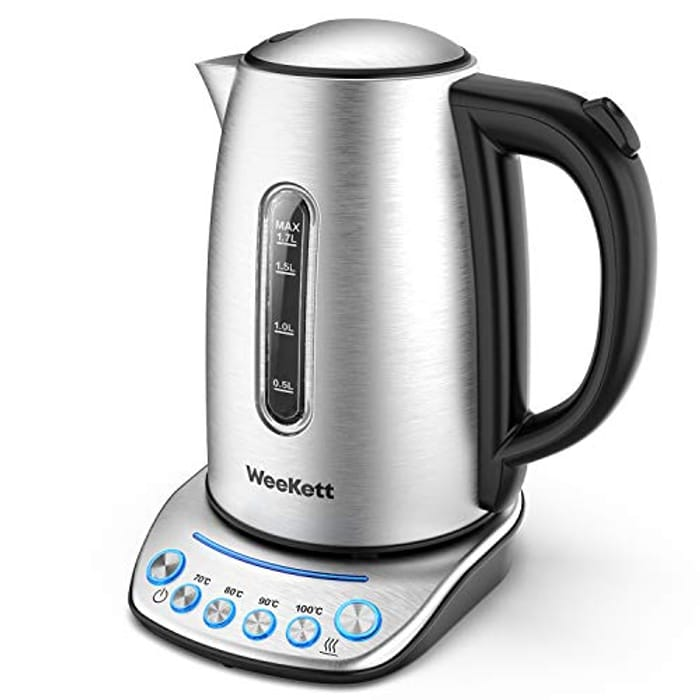 DEAL STACK - WEEKETT Temperature Control Electric Kettle+ £5 Coupon