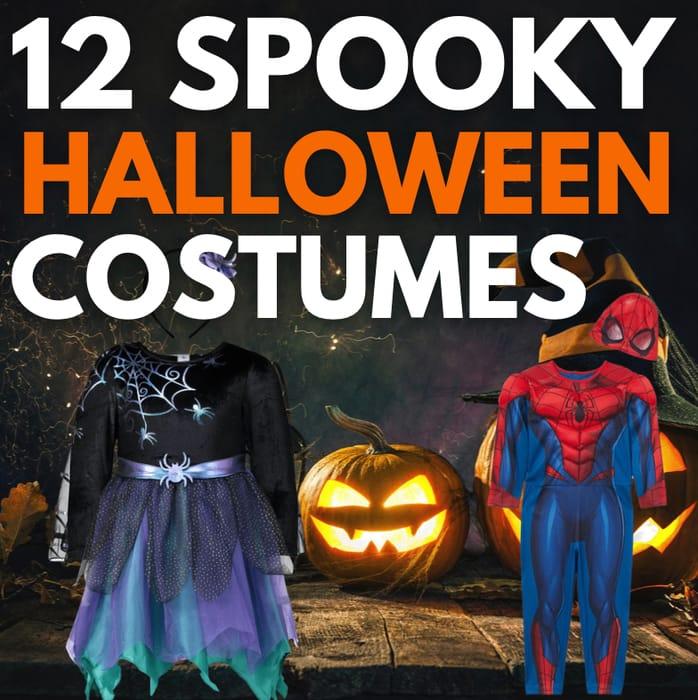 12 Spooky Halloween Costumes Under £20