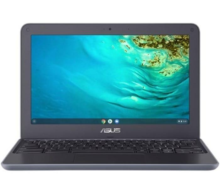 "*SAVE £60* ASUS 11.6"" Chromebook - 32 GB eMMC, Grey & Black"