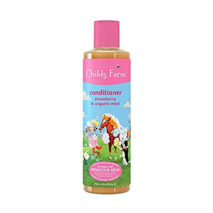 Childs Farm - Children's Conditioner, Strawberry & Organic Mint, 250ml