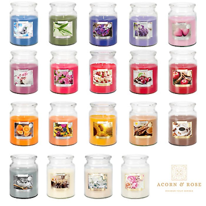 100 Hour Scented Jar Candles £9.86 / 3 For £19.72 Delivered