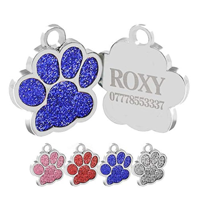 PERSONALISED Engraved Dog Tag
