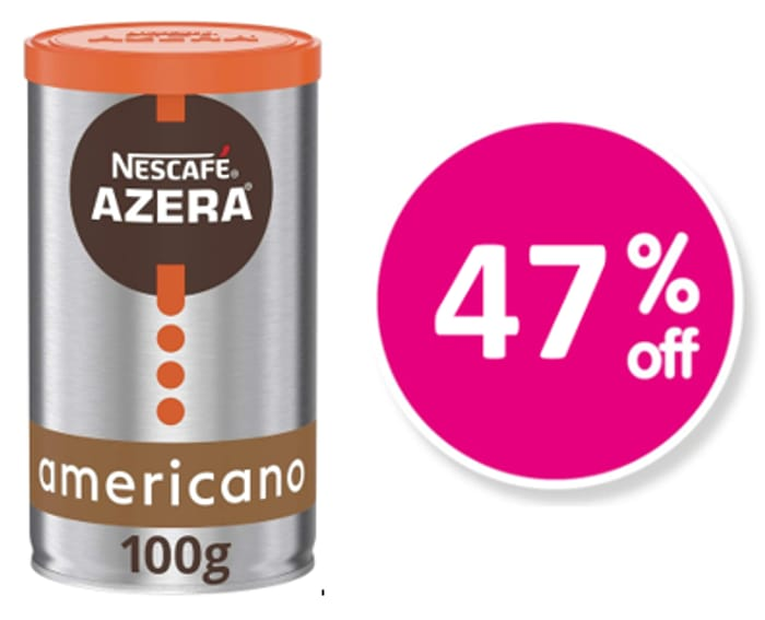 CHEAPEST PRICE! Nescafe Azera Americano Instant Coffee, 100g
