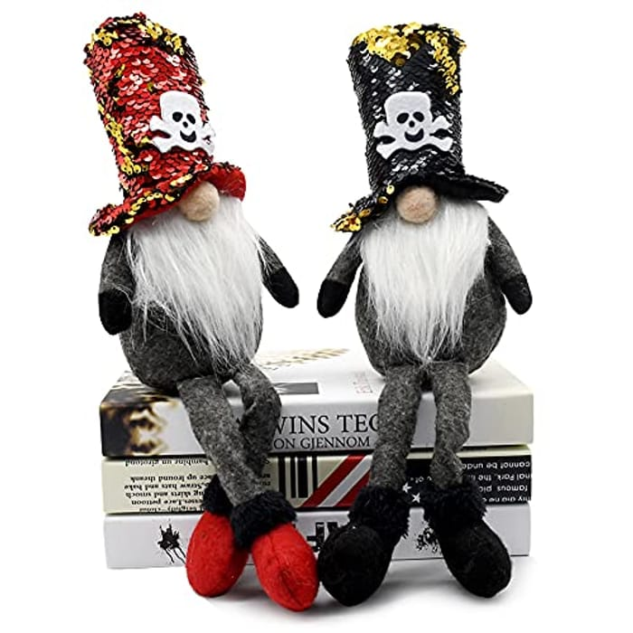 2 Pack Halloween Gnomes!