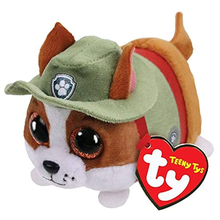 TY 2004211 Tracker-Paw Patrol-Teeny Reg Plush Multicolor