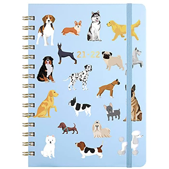 21/22 Diary with Dog Print Only £3.99!