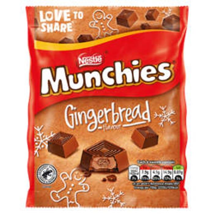 Exclusive to Asda - Munchies Milk Chocolate Gingerbread Bag