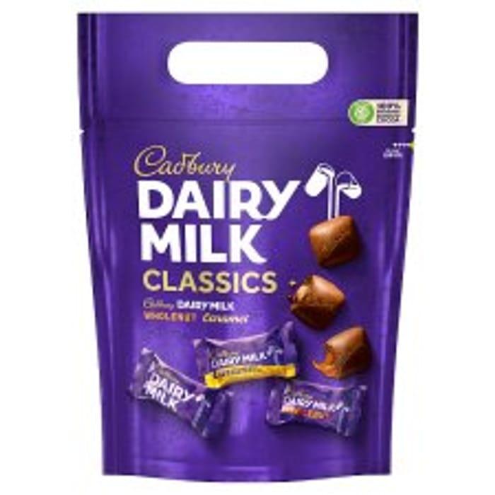 Cadbury Dairy Milk /Wholenut /Mixed Chunk Pouch 350G