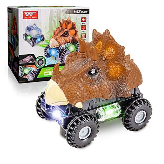 50% off Toy Dinosaur Car