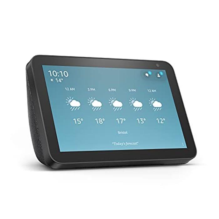 Echo Show 8 (1st Gen, 2019 Release) Smart Display with Alexa