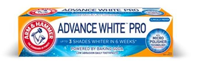 Free 80g Arm & Hammer Toothpaste