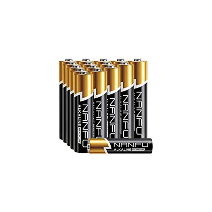 Nanfu 16 Pack Alkaline AAA Batteries