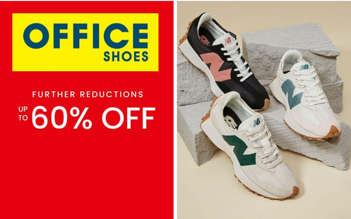 Office Shoes Sale - Further Reductions - Now up to 60% Off