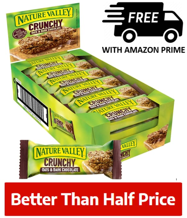 Nature Valley Crunchy Cereal Bars 18 X 42g