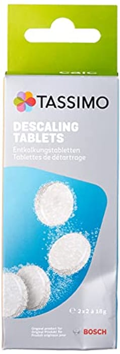 Bosch TCZ6004 Tassimo 4 Tablets for 2 Descaling Processes