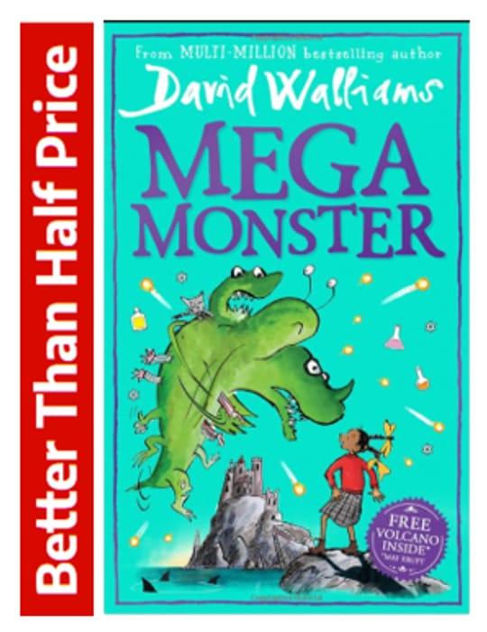 MEGA MONSTER by David Walliams