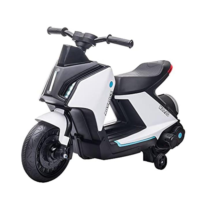 HOMCOM 6V Kids Electric Motorbike - Only £29.49!