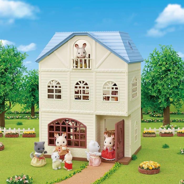 Sylvanian Families Sky Blue Terrace Gift Set