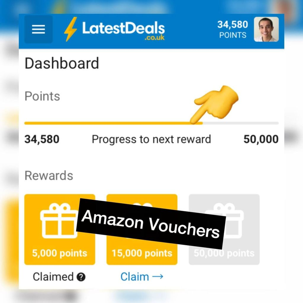Did you know Latest Deals gives you Amazon vouchers?