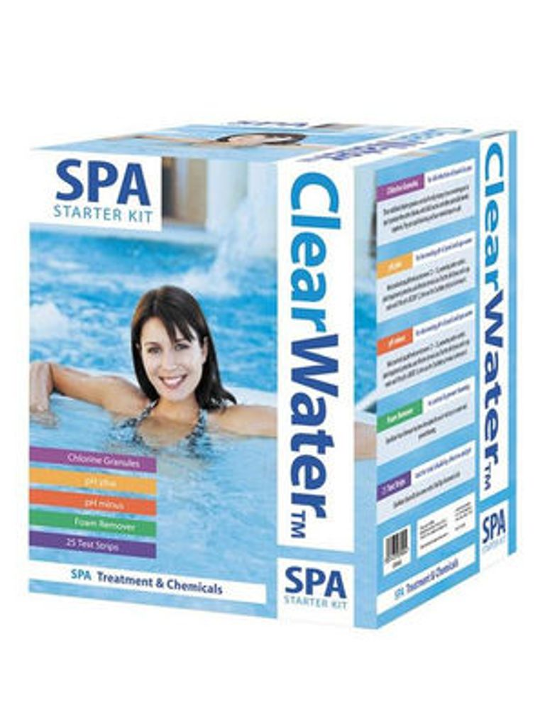 Clearwater Spa Chemical Starter Kit