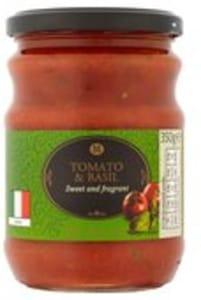 Morrison's Tomato & Basil Pasta Sauce 25p (was £1)