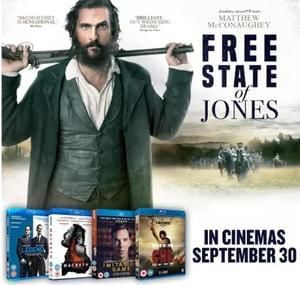 Win a poster and DVD bundle with Free State of Jones