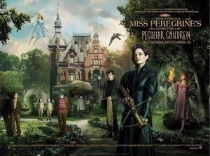Win movie merchandise with Miss Peregrine's Home for Peculiar Children