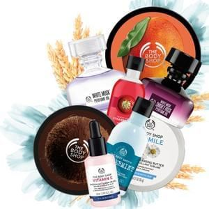 £25 off £50 Spend at The Body Shop deal