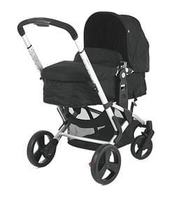 Mothercare Xpedior Pram and Pushchair Travel System Package - Black