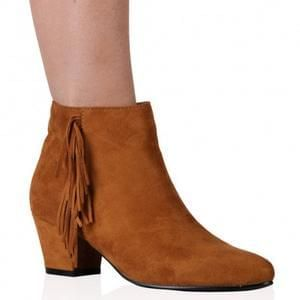 Suede Ankle Boots £9.99 Delivered - Public Desire FLASH SALE